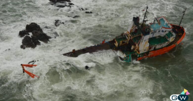 Rescue barge video