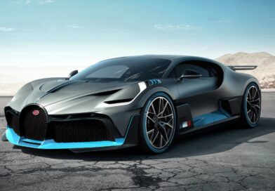 The Bluest Thing You'll See Today Is Bugatti's Final Divo
